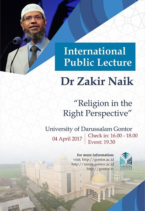 International Public Lecture By Dr. Zakir Naik