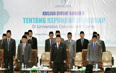 For the First Time in History, UNIDA Gontor Held Annual Ceremony of Khutbatu-l- 'Arsy Orientation Week