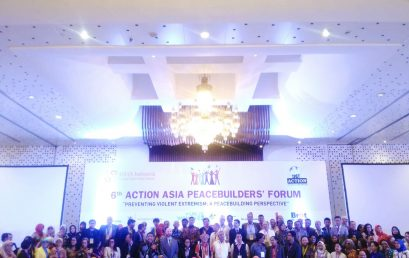 "Mahasiswa UNIDA Gontor menghadiri acara 6th Action Asia Peace Building Forum 2017, dengan Tema ""Preventing Violent Extremism: A Peace Building Perspective"""