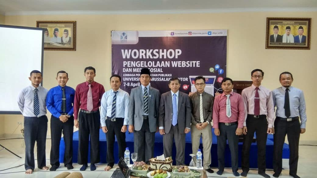 LPP Gelar Workshop Pengelolaan Website dan Media Sosial