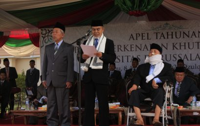 "KH. Hasan Abdullah Sahal: ""100 Doctors for 100 Years of Gontor"""