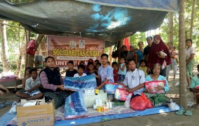 UNIDA Gontor Sends Aid to Lombok Earthquake Victims