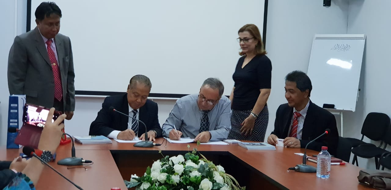 UNIDA Gontor signs MoU with Khazar University, Azerbaijan
