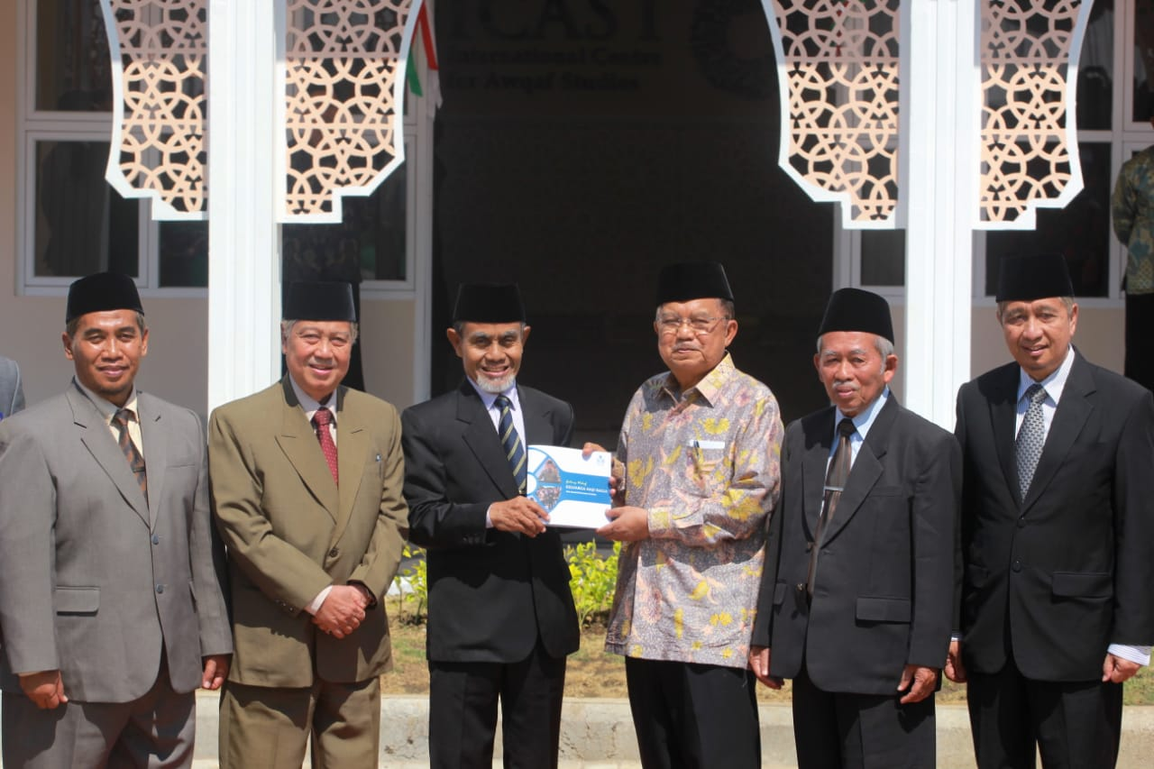 Wakil Presiden RI M. Jusuf Kalla Resmikan Gedung Centre for Islamic Economic Studies (CIES) UNIDA Gontor