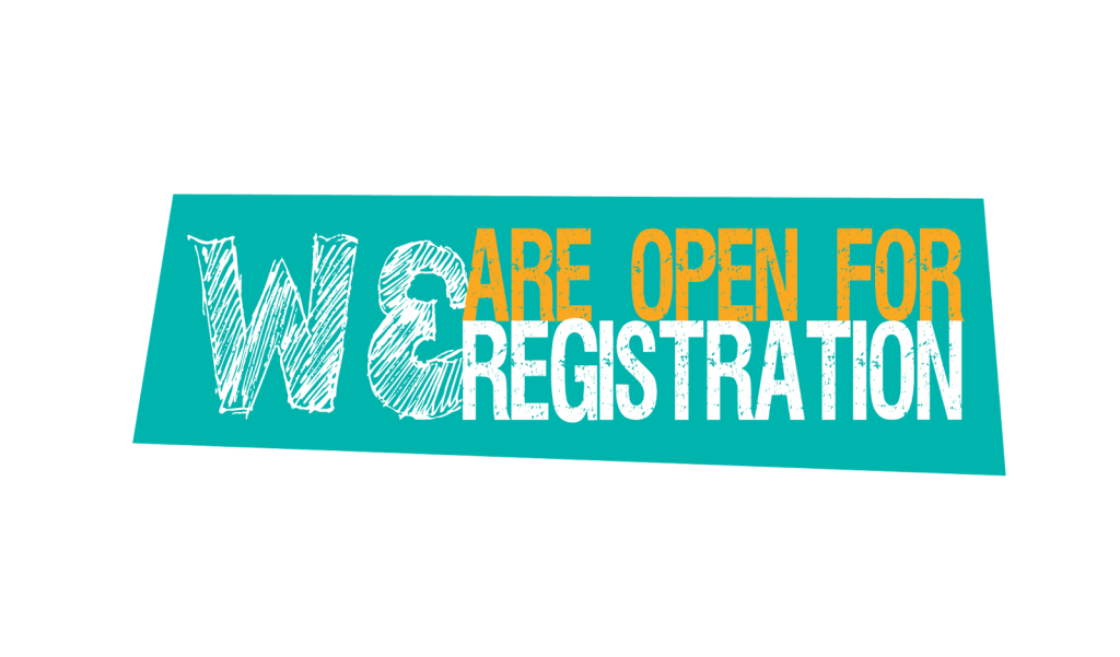 we are open for registration