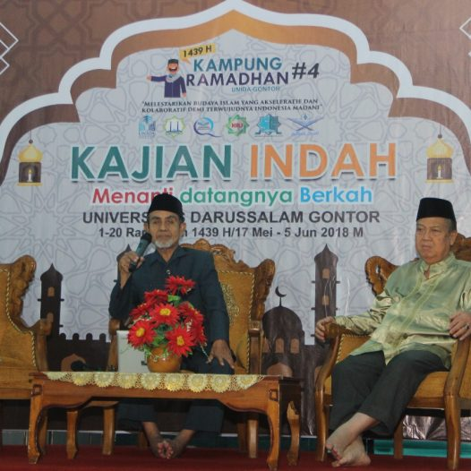 "K.H. Hasan Abdullah Sahal: ""Get More Blessings in Ramadhan  by Participating in Various Activities"""