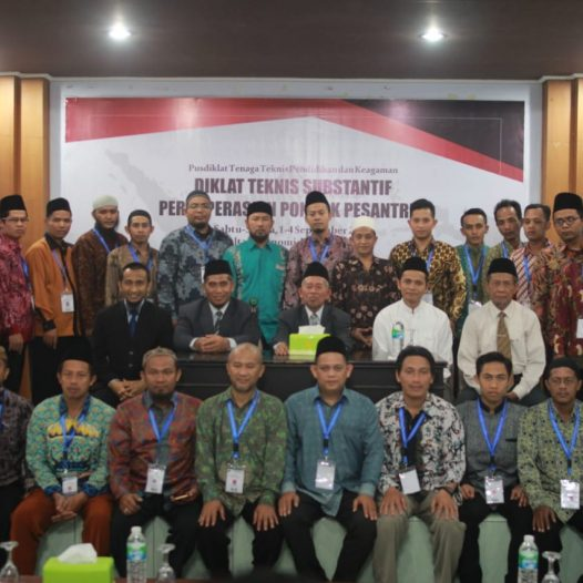 MORA holds training on cooparative enterprise for Islamic Boarding Schools at UNIDA Gontor