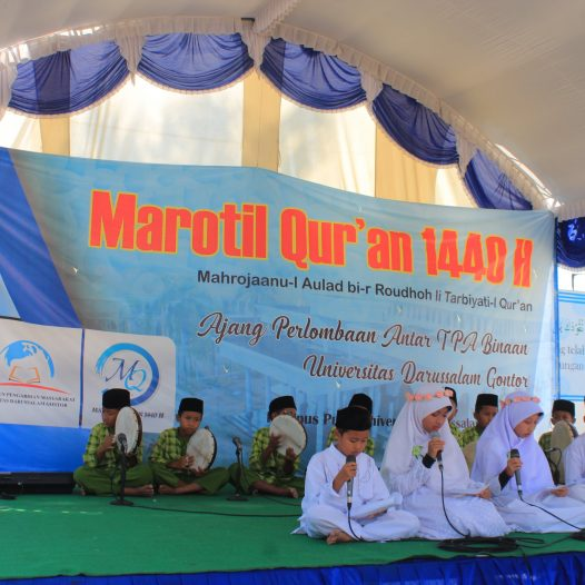 Marotil Qur'an: Silaturrahim between UNIDA Gontor and its guided TPA