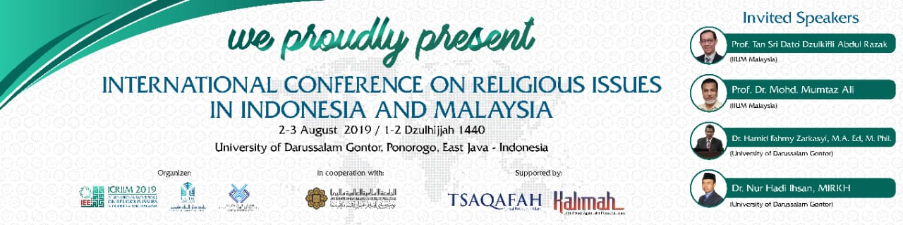 "UNIDA Gontor – IIU Malaysia Jalin Konferensi Internasional, ""Religious Issues in Indonesia and Malaysia"""
