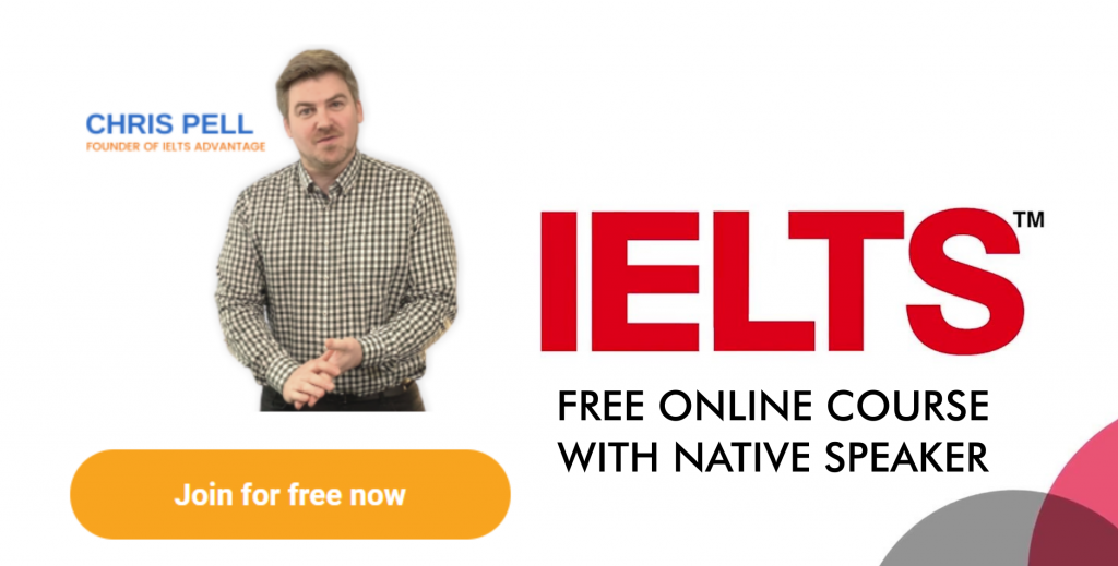 free ielts online course with native speaker