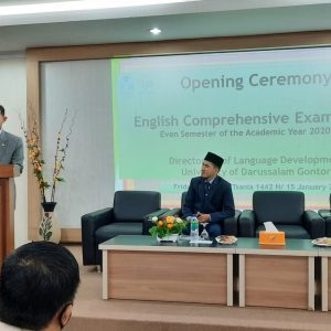 English Comprehensive Examination on Even Semester 1441-1442/2020-2021