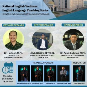National English Webinar: English Language Teaching Series I