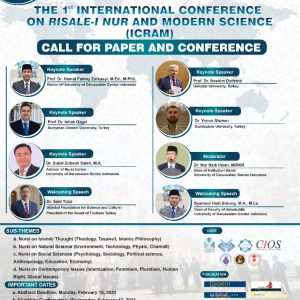 1st International Conference on Risale-I Nur and Modern Science (ICRAM)